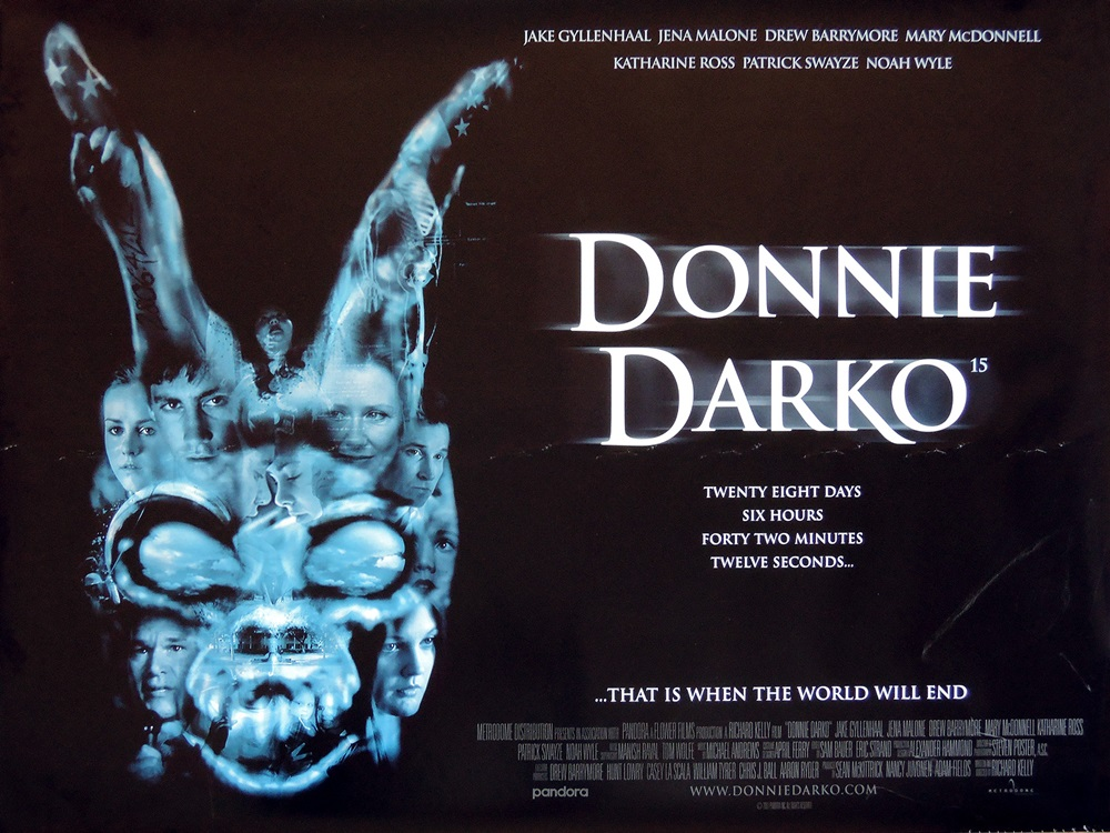 《怵目驚魂28天》(Donnie Darko)電影海報。