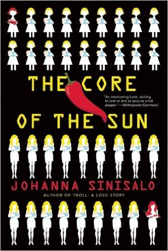 《日心》(The Core of the Sun)書封。