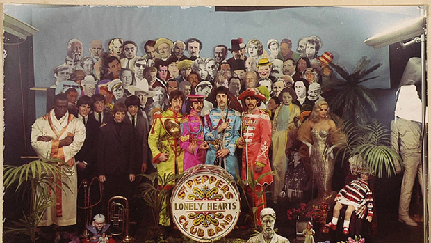 《Sgt. Pepper's Lonely Hearts Club Band》封面照片的拍攝場景。