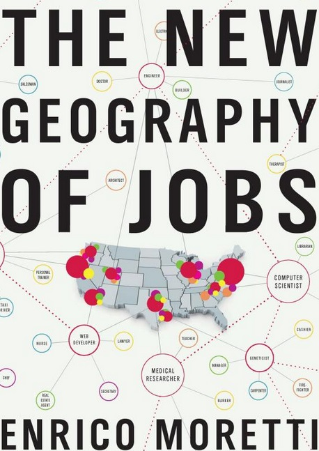 《The New Geography of Jobs》書封。