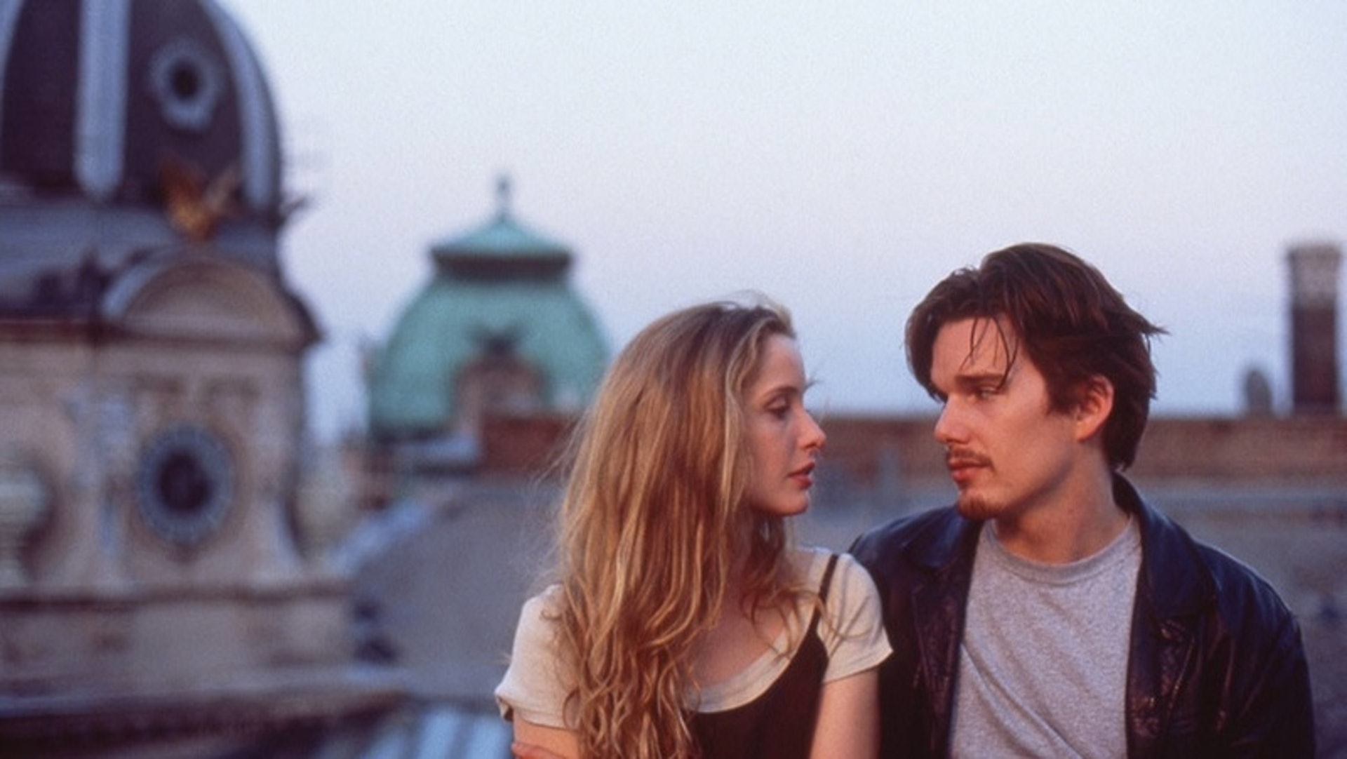 《Before Sunrise》劇照。