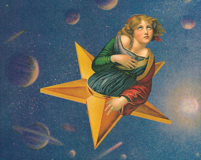 《Mellon Collie and the Infinite Sadness》經典的神秘女孩專輯封面。